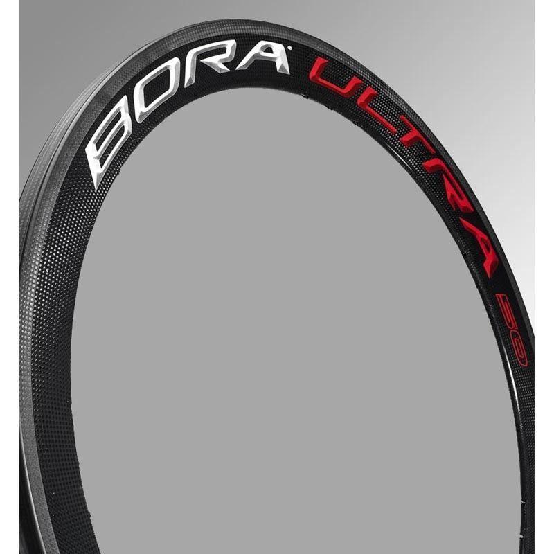 Llanta trasera Bora Ultra 50 Clincher Bright / WH-004BO50 CAMPAGNOLO
