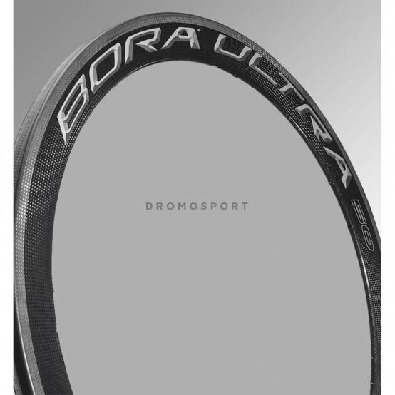 Llanta trasera Bora Ultra 50 Clincher Dark / WH-004BO50DK CAMPAGNOLO