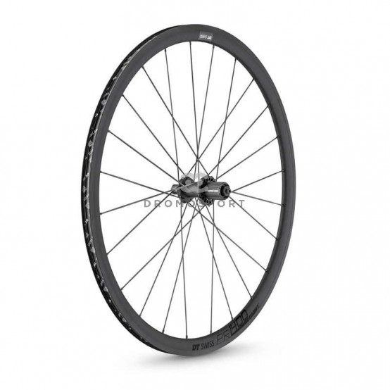 DT SWISS PR 1400 DICUT OXIC 32. Trasera (Cubierta / Tubeless Ready)