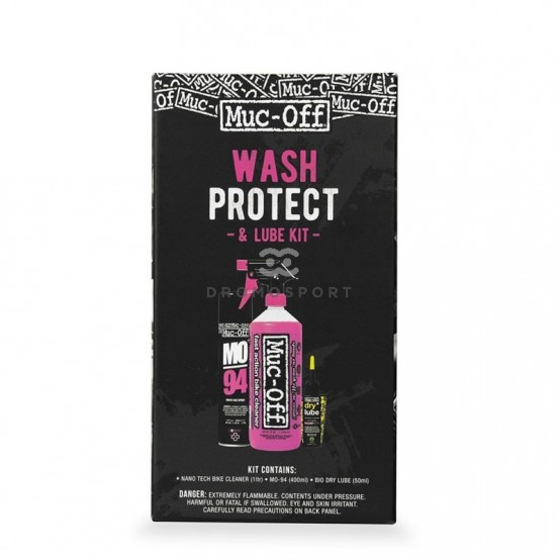 KIT Lavado, protección y lubricación MUC OFF