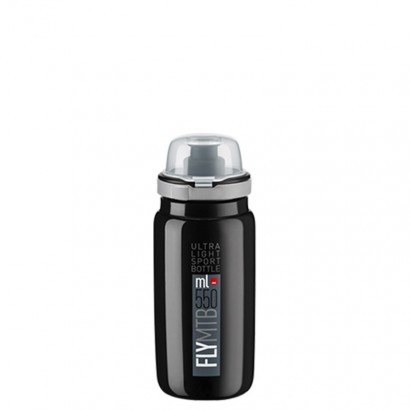 Bidón ELITE FLY NEGRO MTB (550 ml)