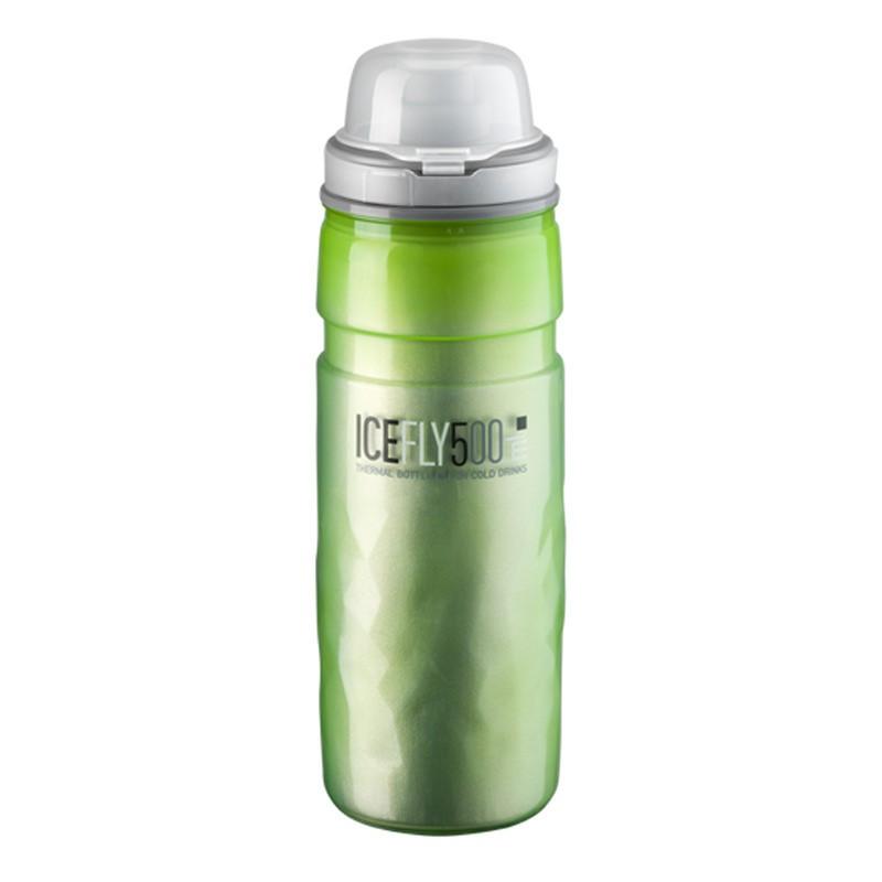 Bidón TERMICO ELITE ICEFLY Verde (500 ml)
