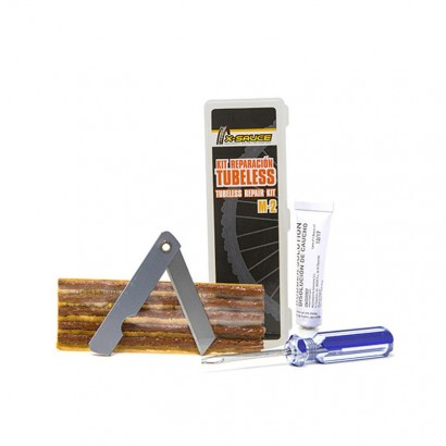 Kit reparacion tubeless X-SAUCE M-2 (Mechas 3,5)