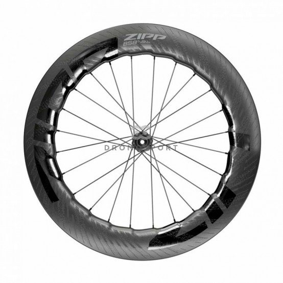 ZIPP 858 NSW CARBON DISC BRAKE. Delantera (Cubierta / Tubeless)