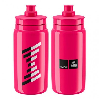 Bidón Giro de Italia 2020 Elite Fly - rosa (550 ml)