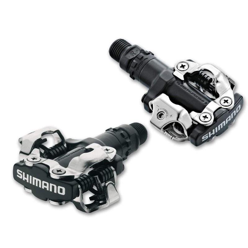 Pedales Shimano M520 SPD negro
