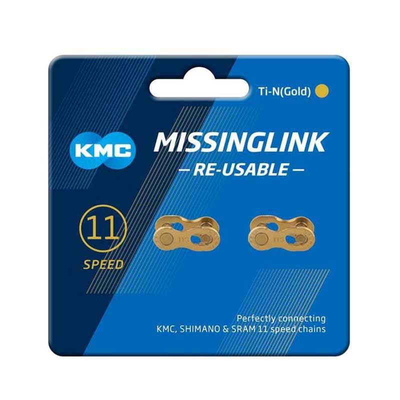 Eslabón cierre KMC MISSINGLINK 11V GOLD
