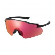 Shimano Gafas EQNX4RD Mat Black w/Ridescape Road