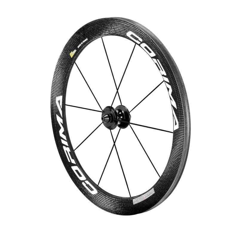 "Rueda silla de ruedas Corima S Black 40mm 20"". Delantera (Tubular)"