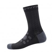 Calcetines Shimano S-Phyre Merino Lar. Black